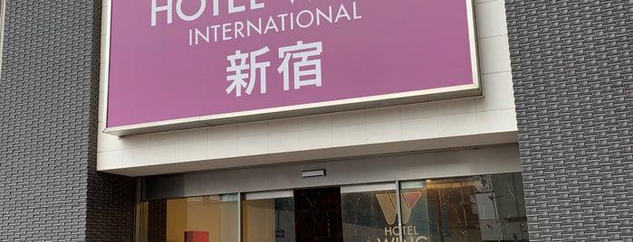 ホテルウィングインターナショナル新宿 is one of 送水口BINGO.