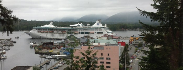 Cape Fox Lodge is one of Alaska cruising.