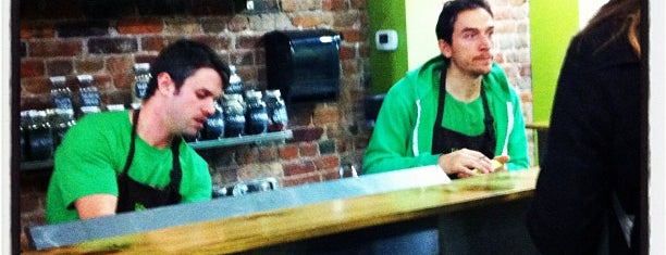 the green smoothie bar is one of Bail's Liked Places.
