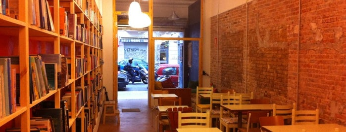 Babèlia Books & Coffee is one of Esteban 님이 저장한 장소.