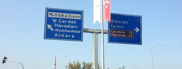 Denizli Organize Sanayi Bölgesi is one of สถานที่ที่ Serhat ถูกใจ.