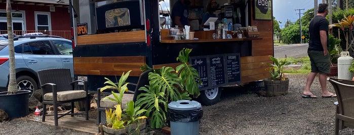 Eden Coffee is one of Kauai.
