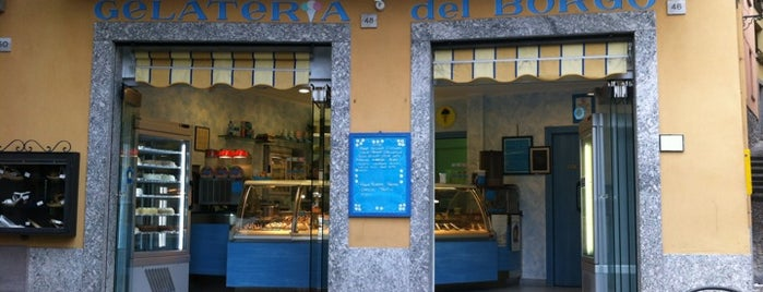 Gelateria del Borgo is one of Italy!.