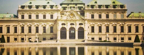 Oberes Belvedere is one of Vienna.