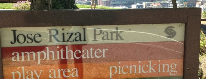 Dr. Jose Rizal Park is one of Seattle.