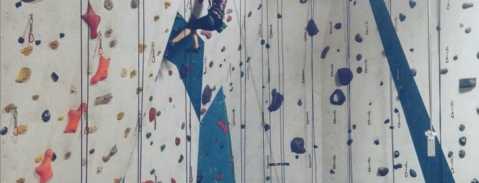 Boulderz Climbing Centre is one of Meghan's Liked Places.