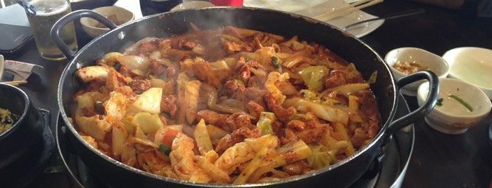 춘천닭갈비 ChoonChunDakGalBi is one of Lieux sauvegardés par Chang.