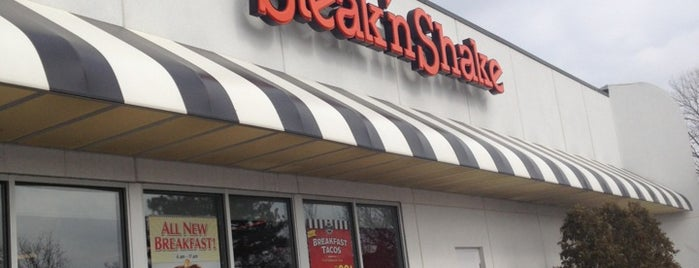 Steak 'n Shake is one of Orte, die John gefallen.