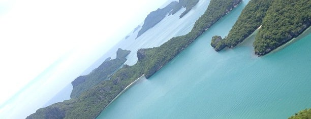 Angthong National Marine Park is one of Koh Samui must-do list.