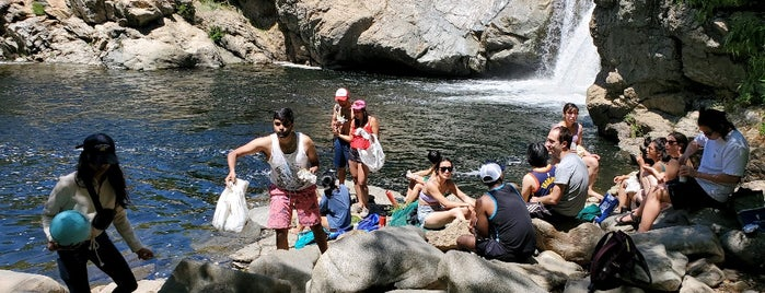 Rainbow Pool is one of Yosemite.