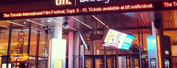 TIFF Bell Lightbox is one of CAN Toronto Favourites.