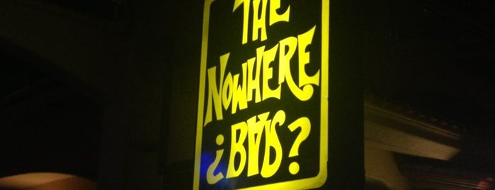 The Nowhere Bar is one of México Hot Spots.