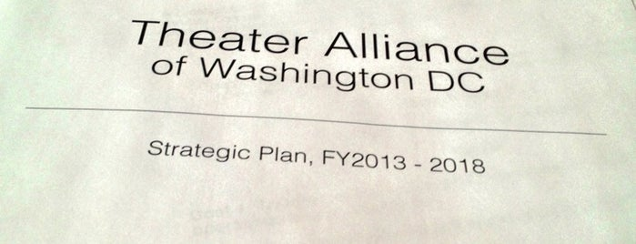 Theater Alliance of Washington DC is one of Members.