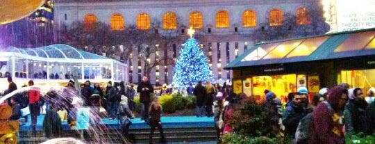 The Holiday Shops at Bryant Park is one of Xmas Shopping.