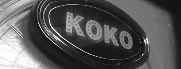 KOKO is one of Best clubs in London.