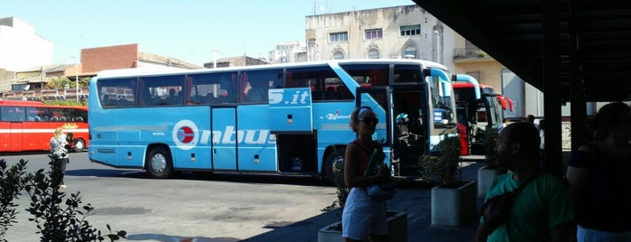 Terminal Interbus Catania is one of Marina : понравившиеся места.