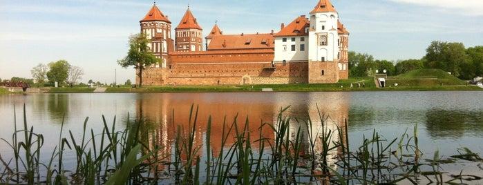 Мирский замок is one of UNESCO World Heritage Sites in Eastern Europe.