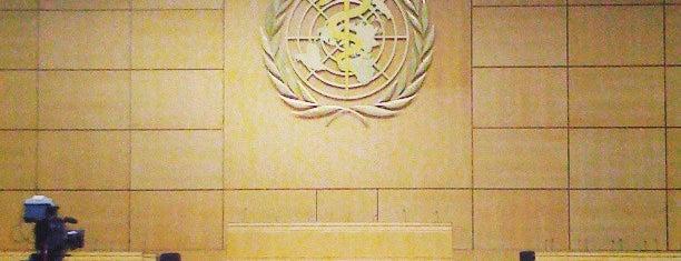 World Health Organization (WHO) is one of Geneva.