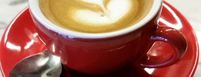 Hacienda San Pedro Coffee Shop is one of Courtney + Diamond.