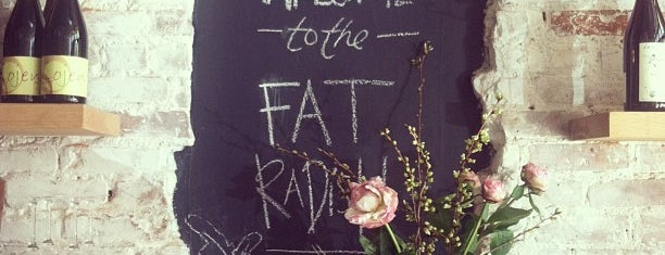 The Fat Radish is one of ღ♡ღ date spots ღ♡ღ.