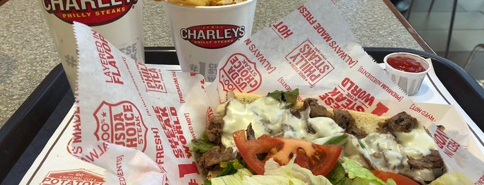 Charleys Philly Steaks is one of Ailieさんのお気に入りスポット.