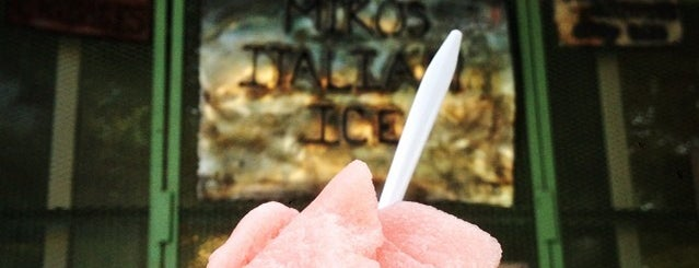 Miko's Italian Ice is one of Lugares guardados de Katherine.