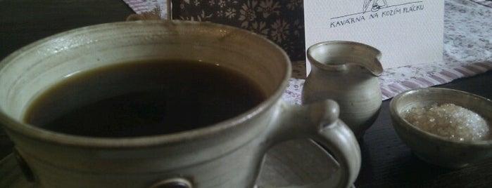 Kavárna Na Kozím plácku is one of Kde si pochutnáte na kávě doubleshot?.