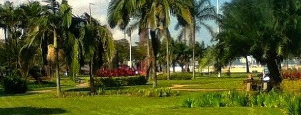 Jardim da Orla de Santos is one of Guilherme 님이 좋아한 장소.