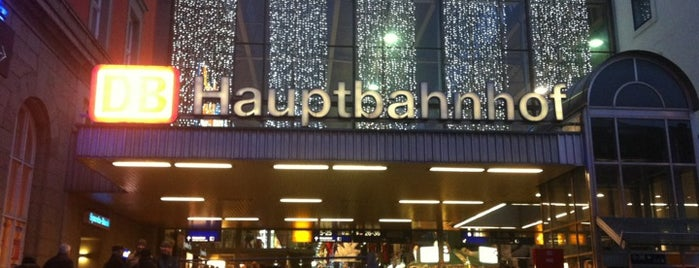 München Hauptbahnhof is one of Eurotrip 2014.