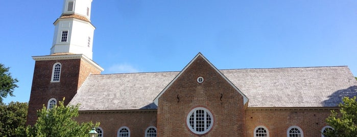 Bruton Parish Episcopal Church is one of Michaelさんのお気に入りスポット.