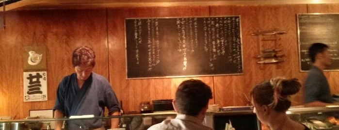 Teppo Yakitori & Sushi Bar is one of Observer restaurants.