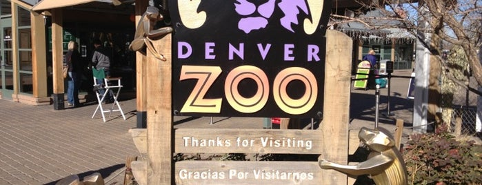 Denver Zoo is one of SW US Roadtrip.