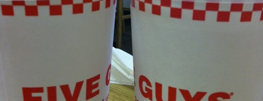 Five Guys is one of Best in Hillcrest.