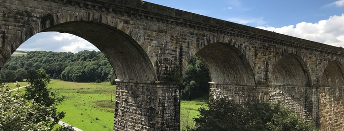 Chirk Aqueduct is one of Canal Places UK.