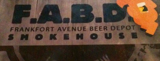 Frankfort Ave Beer Depot is one of Best of Louisville.