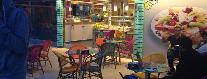 Kemal Usta Waffles is one of Orte, die Selçuk gefallen.