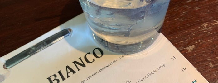 Bar Bianco is one of PHX.