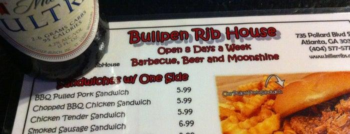 Bullpen Rib House is one of More to do restaurants.