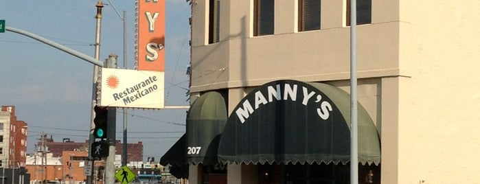 Manny's Mexican Restaurant is one of Kansas City.