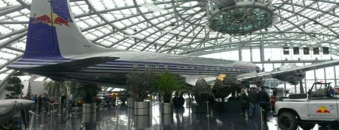 Hangar-7 is one of Aviation.