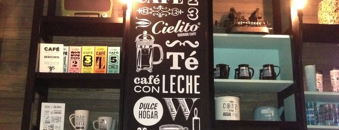 Cielito Querido Café is one of Restaurantes / Cafes.