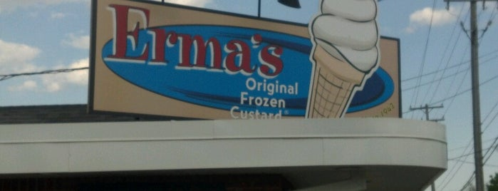Erma's Original Frozen Custard is one of Detroit.