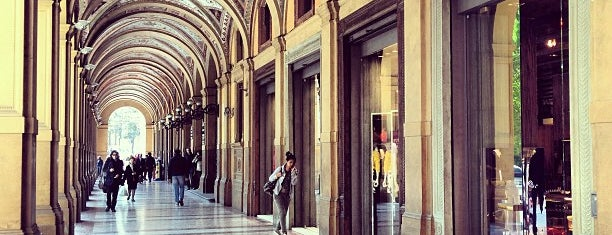 Galleria Cavour is one of Bologna travel tips.