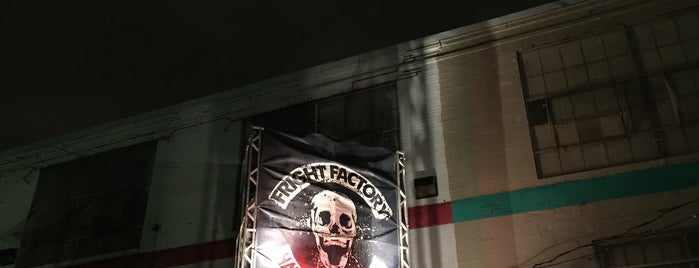Fright Factory Haunted Attraction is one of Philly.