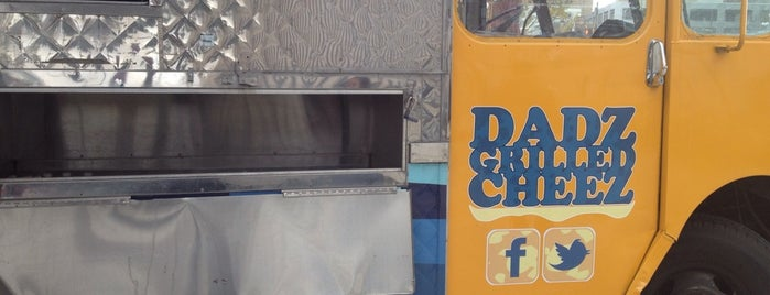 Dadz Grilled Cheese is one of Philly Food Trucks.