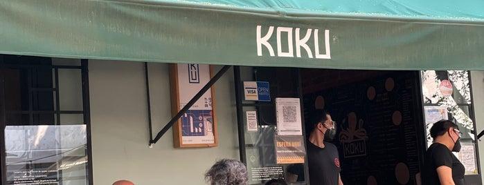 KOKU is one of Donde comer con mi Choko.