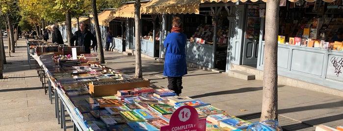 Librerías Cuesta de Moyano is one of Bookstores and Literary Landmarks.
