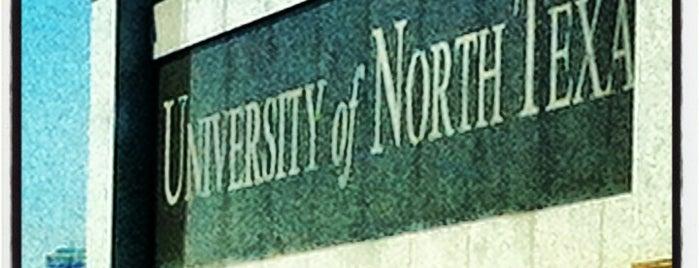 University of North Texas is one of สถานที่ที่ Cameron ถูกใจ.