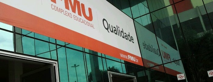 FMU - Campus Liberdade is one of Guilherme 님이 좋아한 장소.