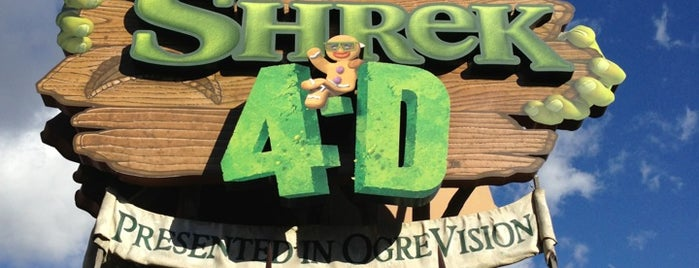 Shrek 4-D is one of Must-visit Theme Parks in Universal City.